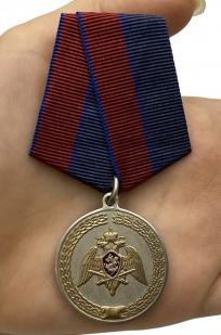 """Медаль """"За заслуги в укреплении правопорядка"""" (Росгвардии) с доставкой"""