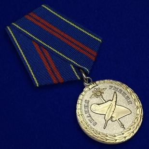 Медаль МВД России За управленческую деятельность 2 степени - общий вид