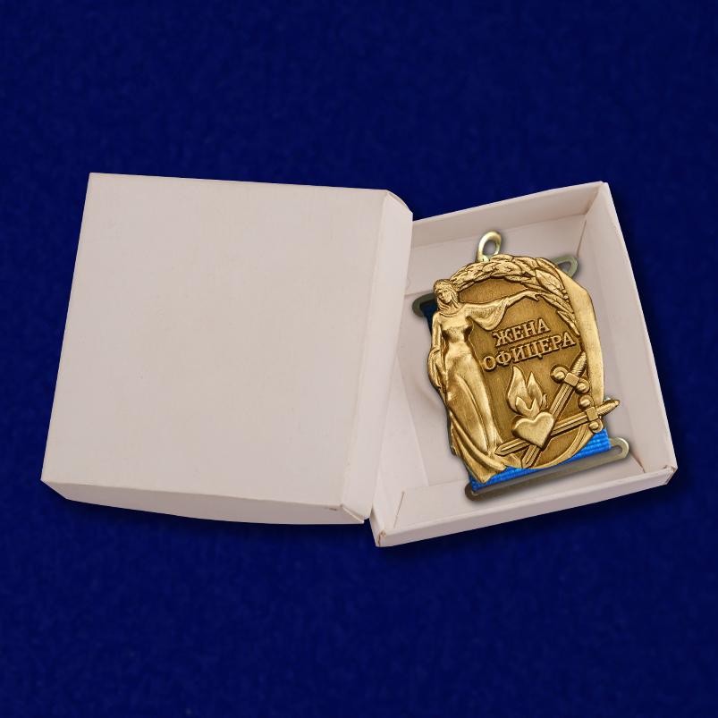 """Медаль """"Жена офицера"""" от Военпро"""