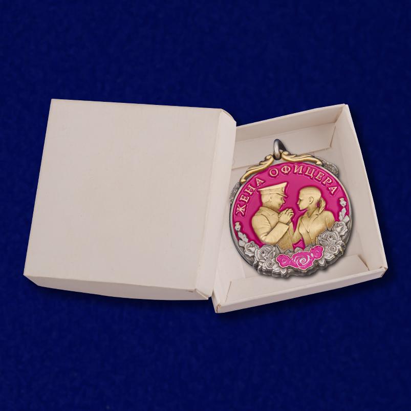 """Медаль """"Жене офицера"""" с доставкой"""