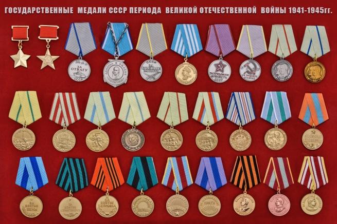 Муляжи наград СССР в Астрахани