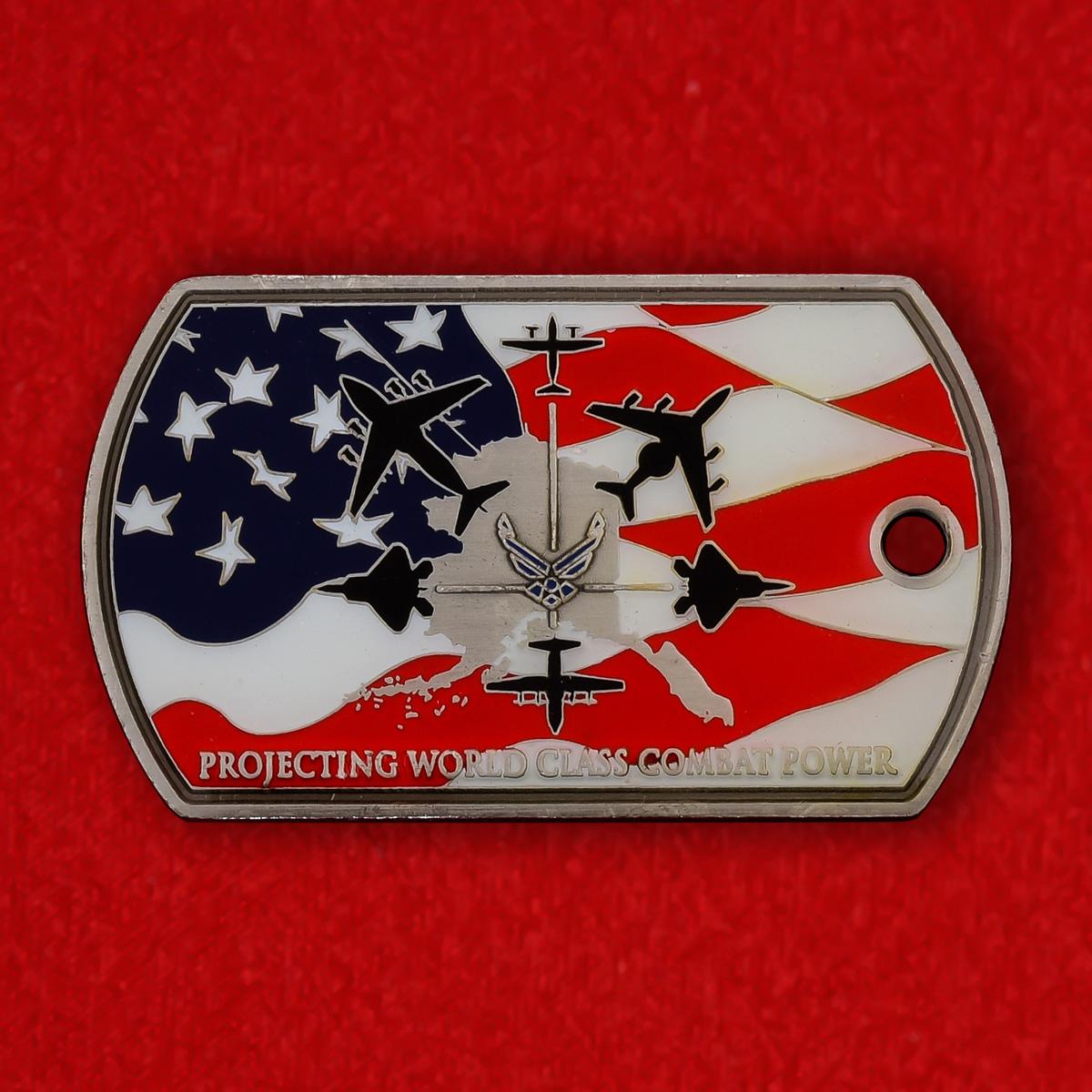 """Медальон """"3-е крыло ВВС США"""""""