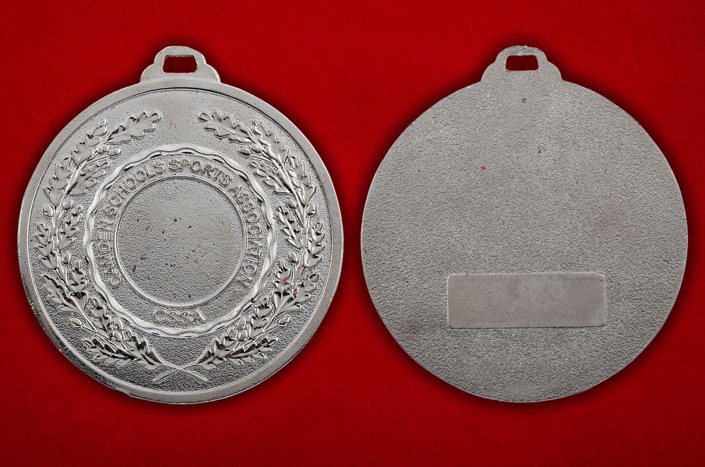 Медальон Ассоциации спортшкол Кэмдена, Лондон - аверс и реверс
