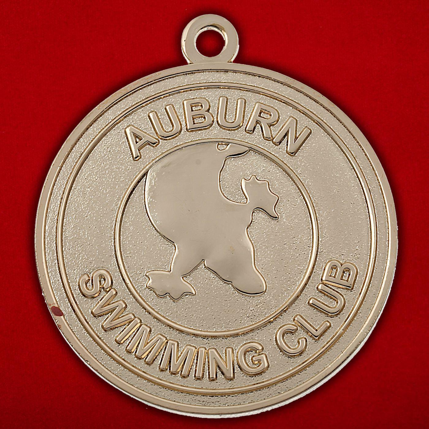 Медальон члена клуба пловцов Эйбурна, Австралия
