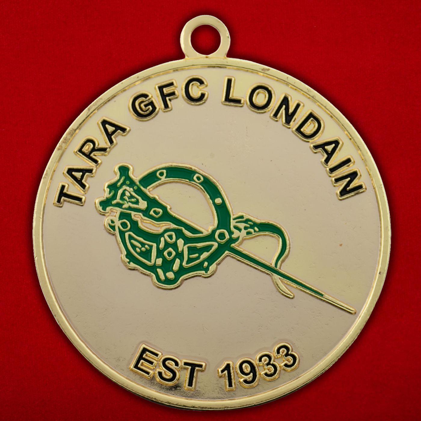 Медальон Гэльского футбольного клуба Лондона