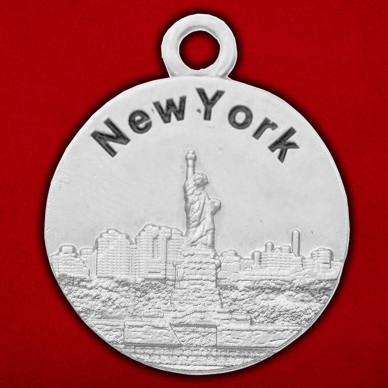 """Медальон """"Нью-Йорк - Бостон"""""""