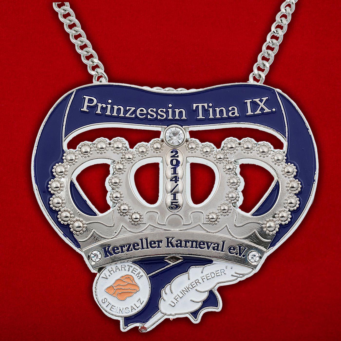 Медальон Принцессы карнавала в Керцелле