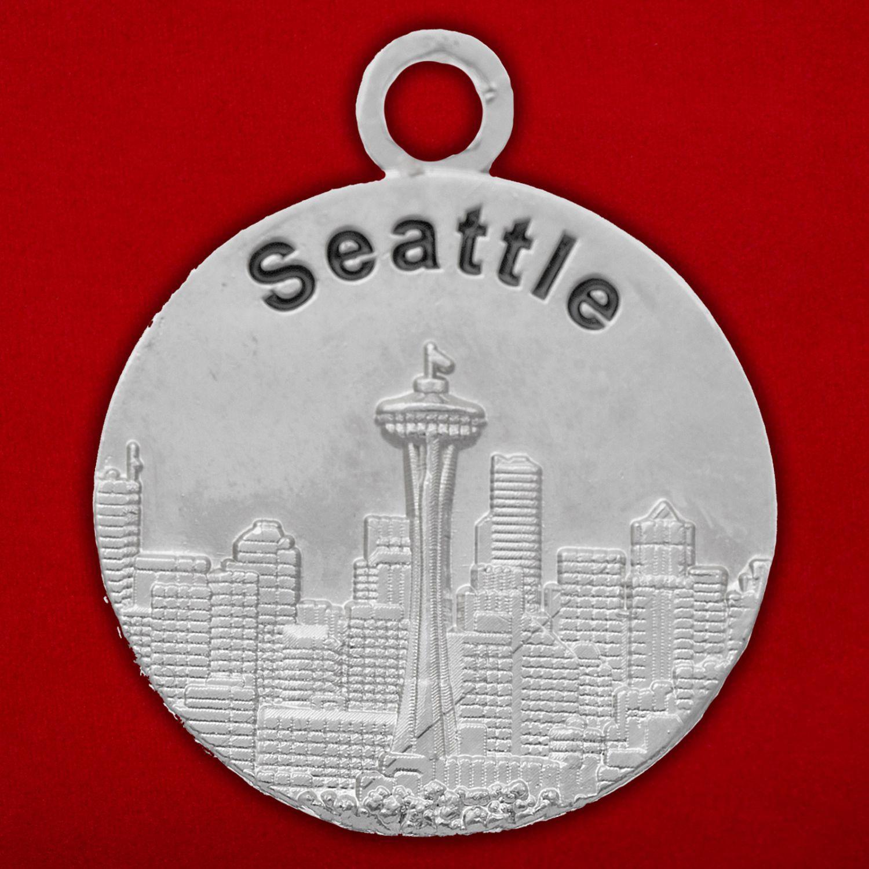 """Медальон """"Сиэттл - Хьюстон"""""""