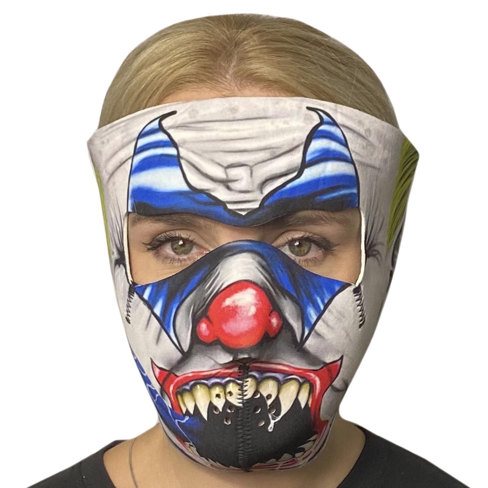 Медицинская антивирусная маска c ярким принтом Skulskinz Joker