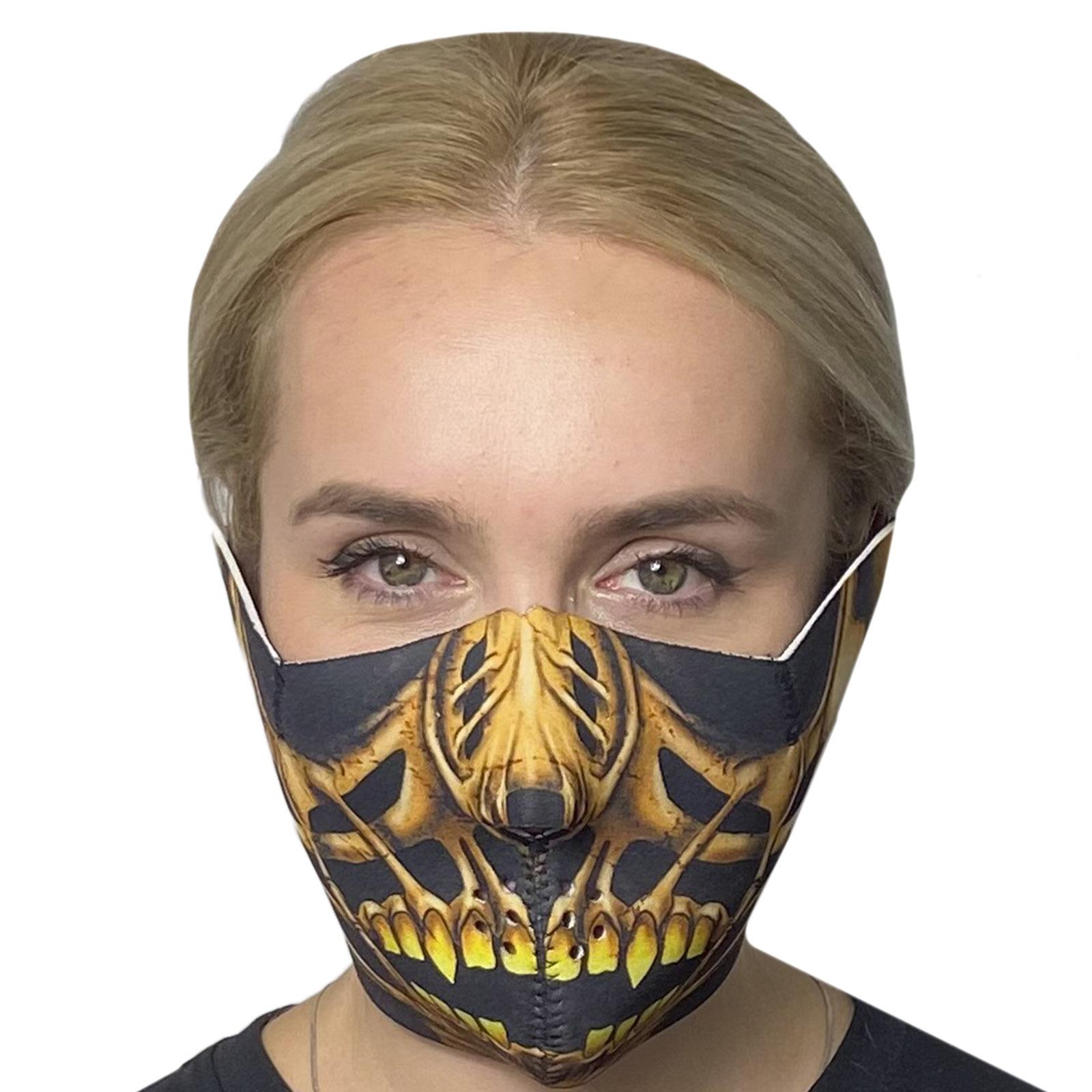 Медицинская антивирусная маска Wild Wear Bonebreaker
