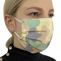 Медицинская маска камуфляжная