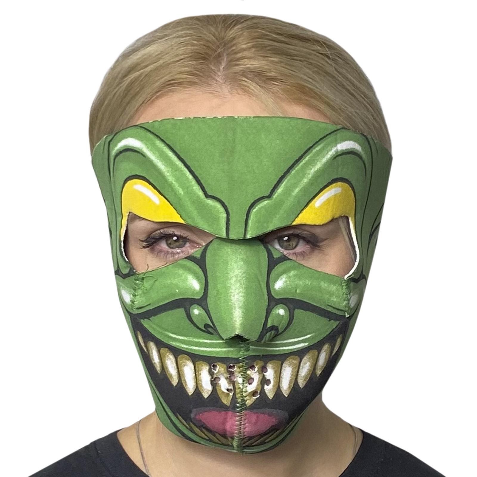 Медицинская маска с молодежным дизайном Skulskinz Golem