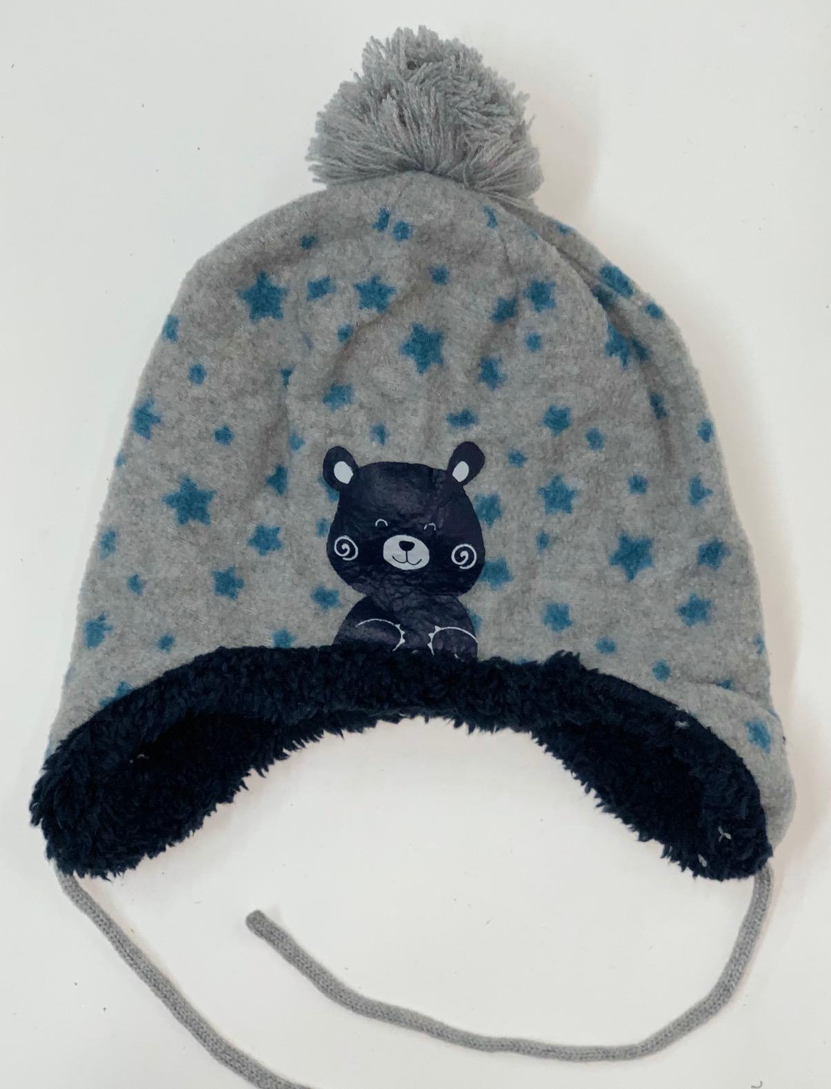 Меховая детская шапка Topomini