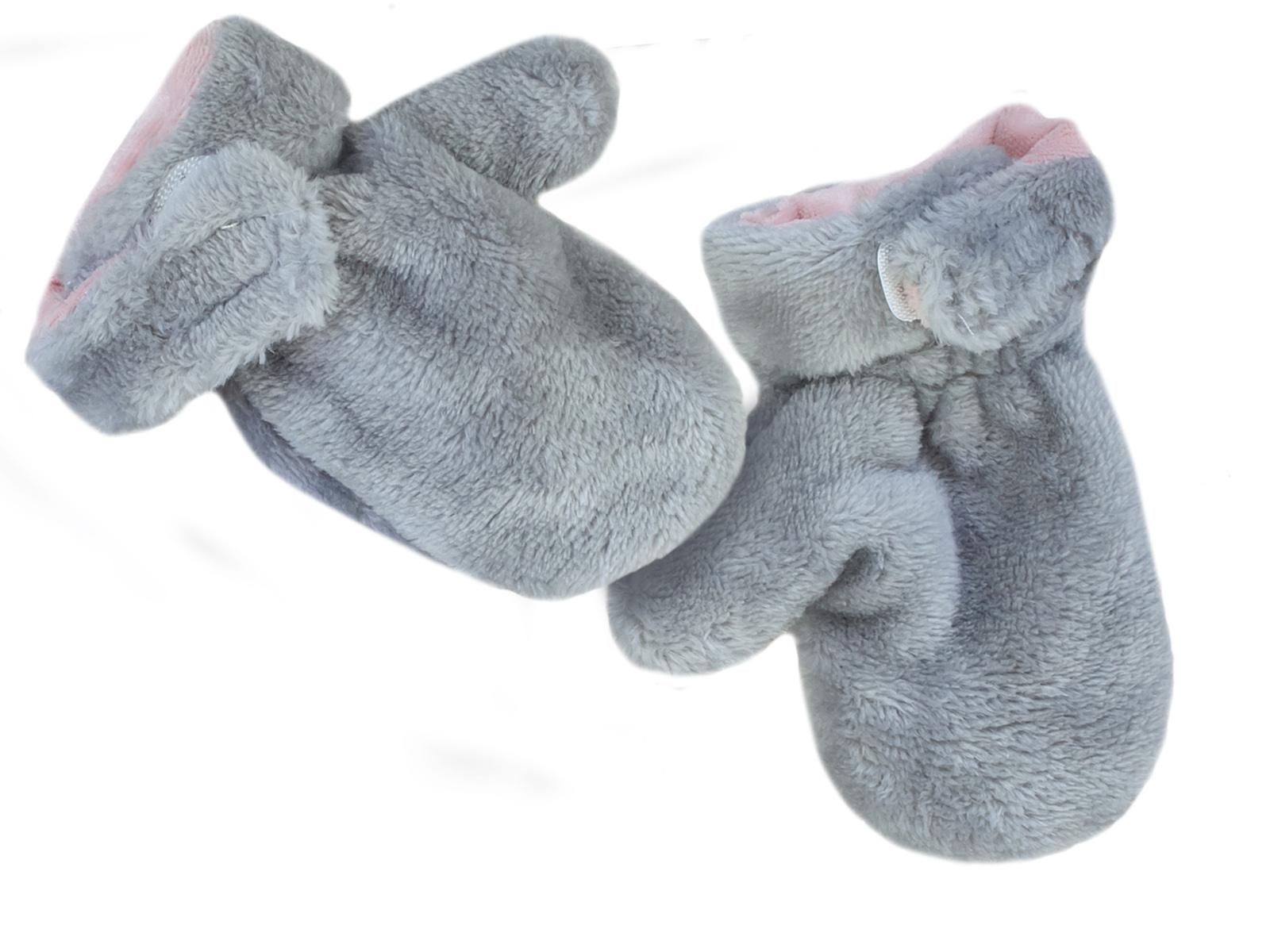 Варежки меховые для малышей