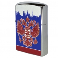 Металлическая бензиновая зажигалка Россия