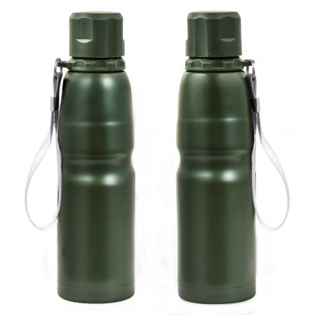 Металлическая бутылка термос