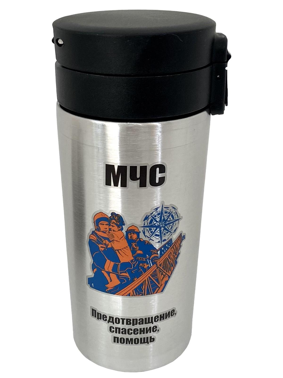 Металлическая термокружка МЧС