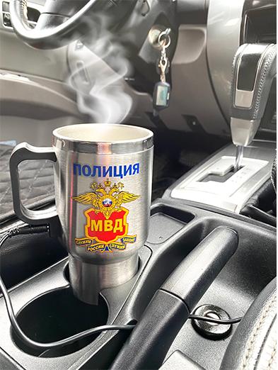 Металлическая термокружка МВД