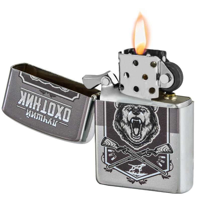 Металлическая зажигалка лучшего охотника