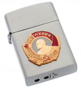 Металлическая зажигалка с орденом Ленина - по лучшей цене