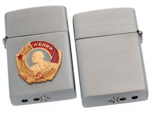 Металлическая зажигалка с орденом Ленина с доставкой