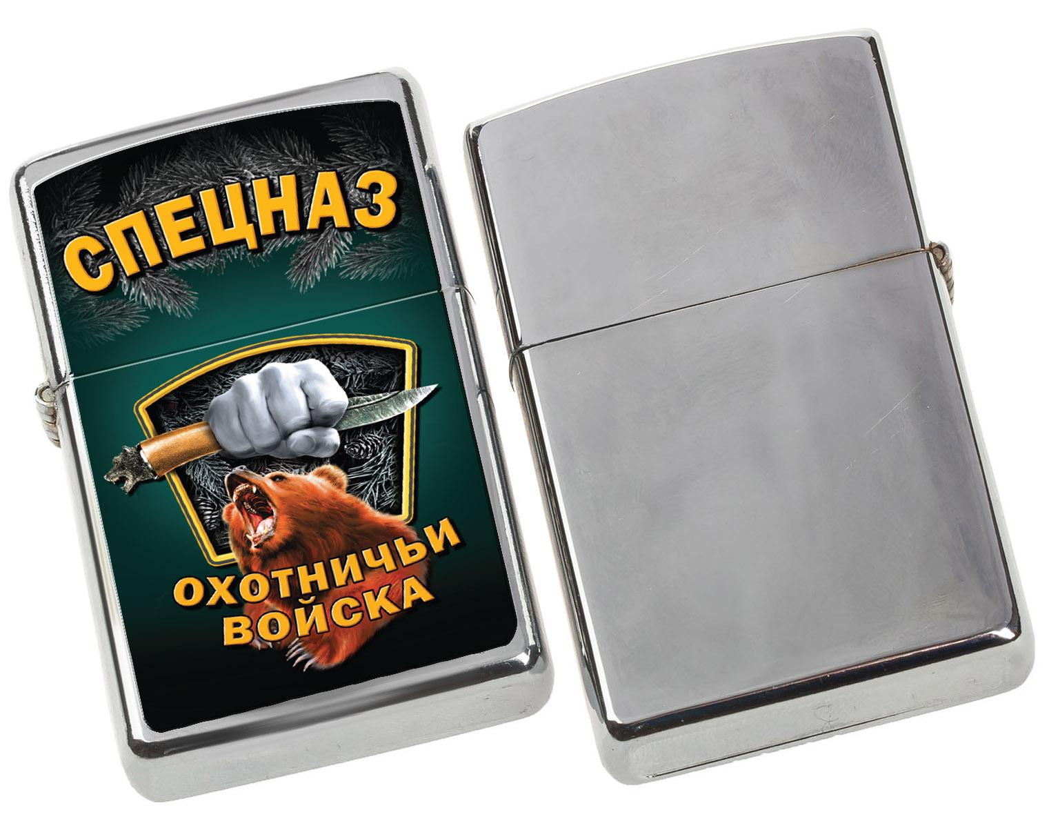 Металлическая зажигалка в подарок охотнику - купить в подарок