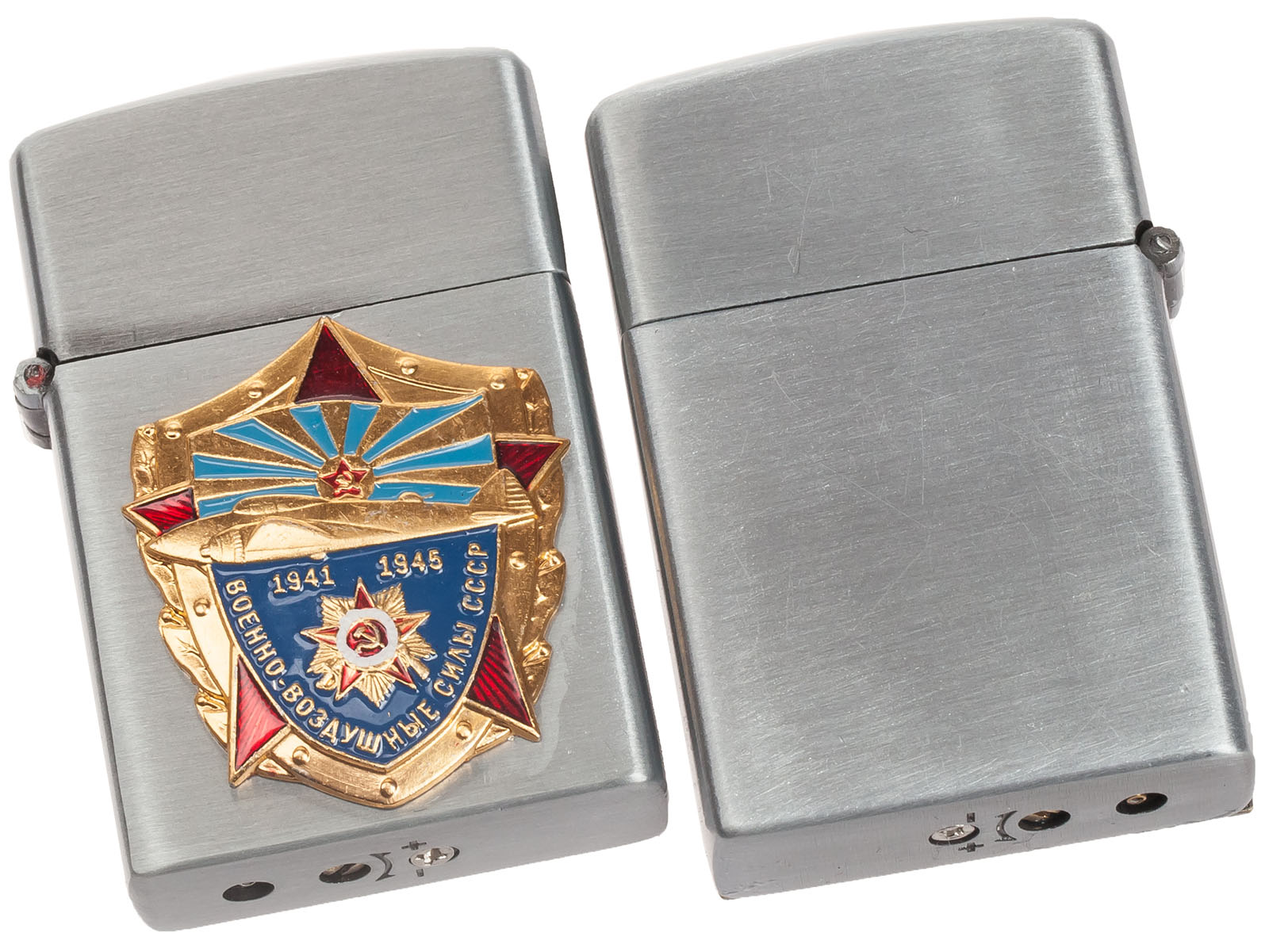 Продажа зажигалок и других сувениров ВВС/ВКС