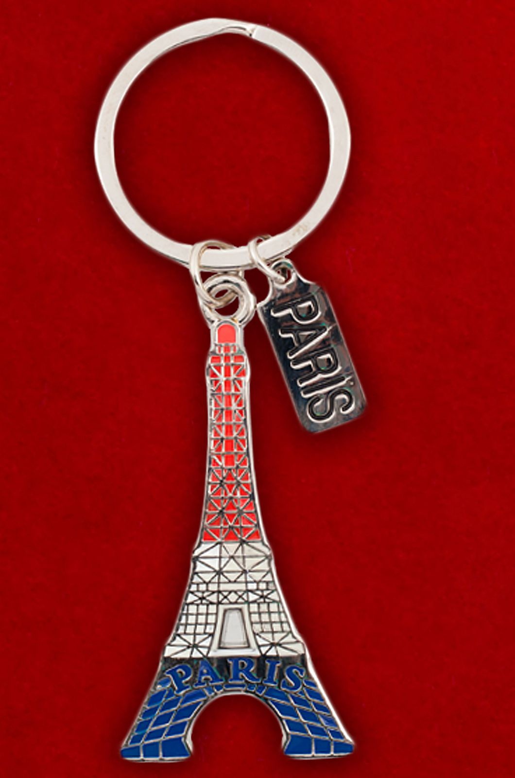 """Металлический брелок """"Париж"""" - купить в интернет-магазине"""