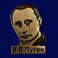 "Металлический магнитик ""В. В. Путин"" на холодильник"