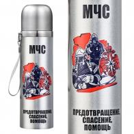 Металлический термос МЧС