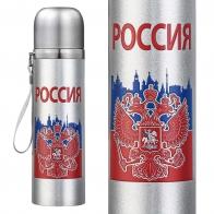 Металлический термос Россия