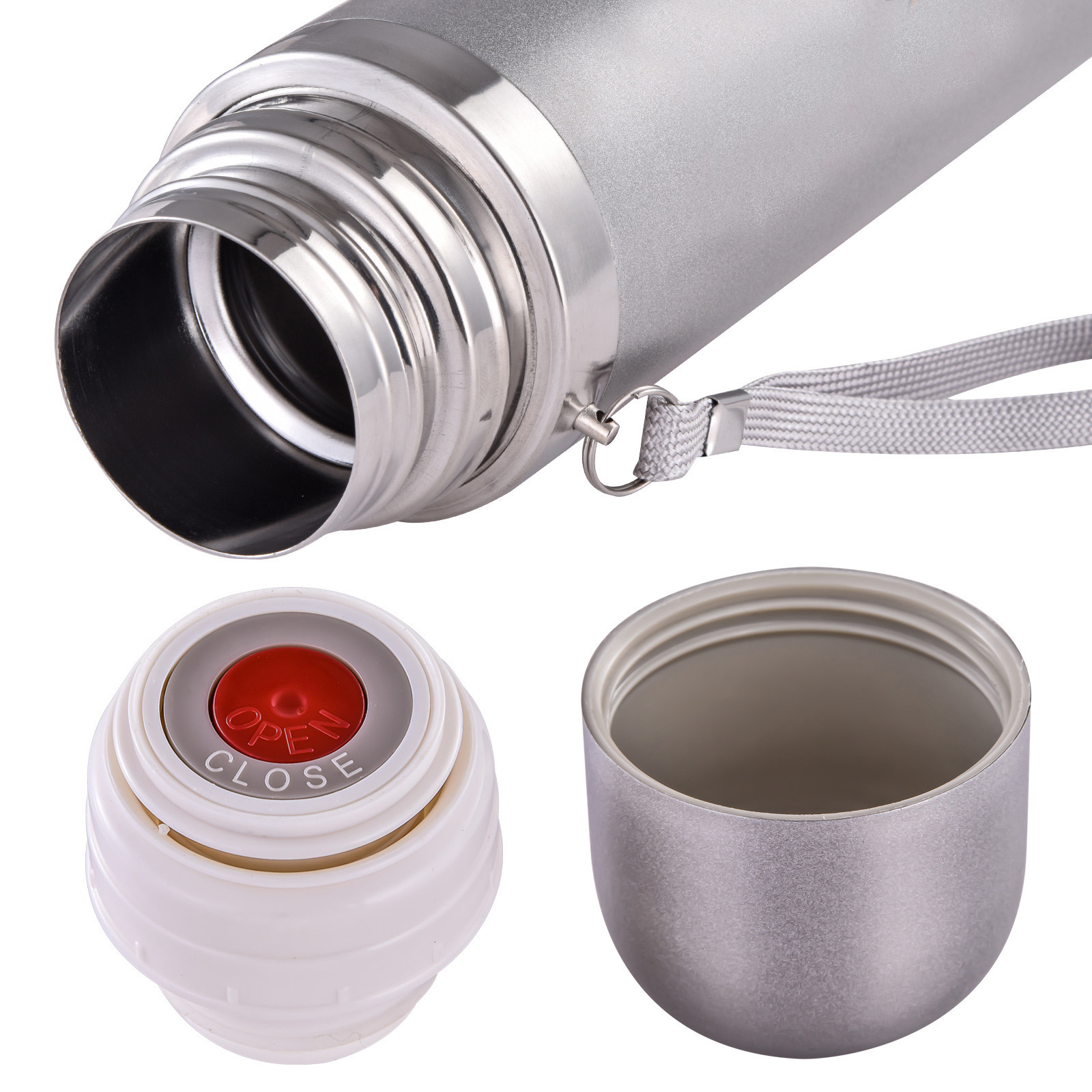 Кнопка-клапан и крышка-чашка
