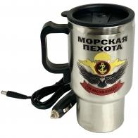Металлический термостакан Морская пехота
