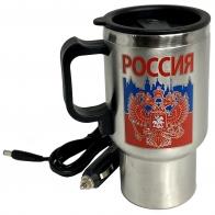 Металлический термостакан Россия