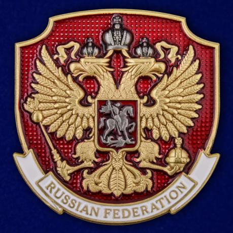 """Металлический жетон """"Герб России"""""""