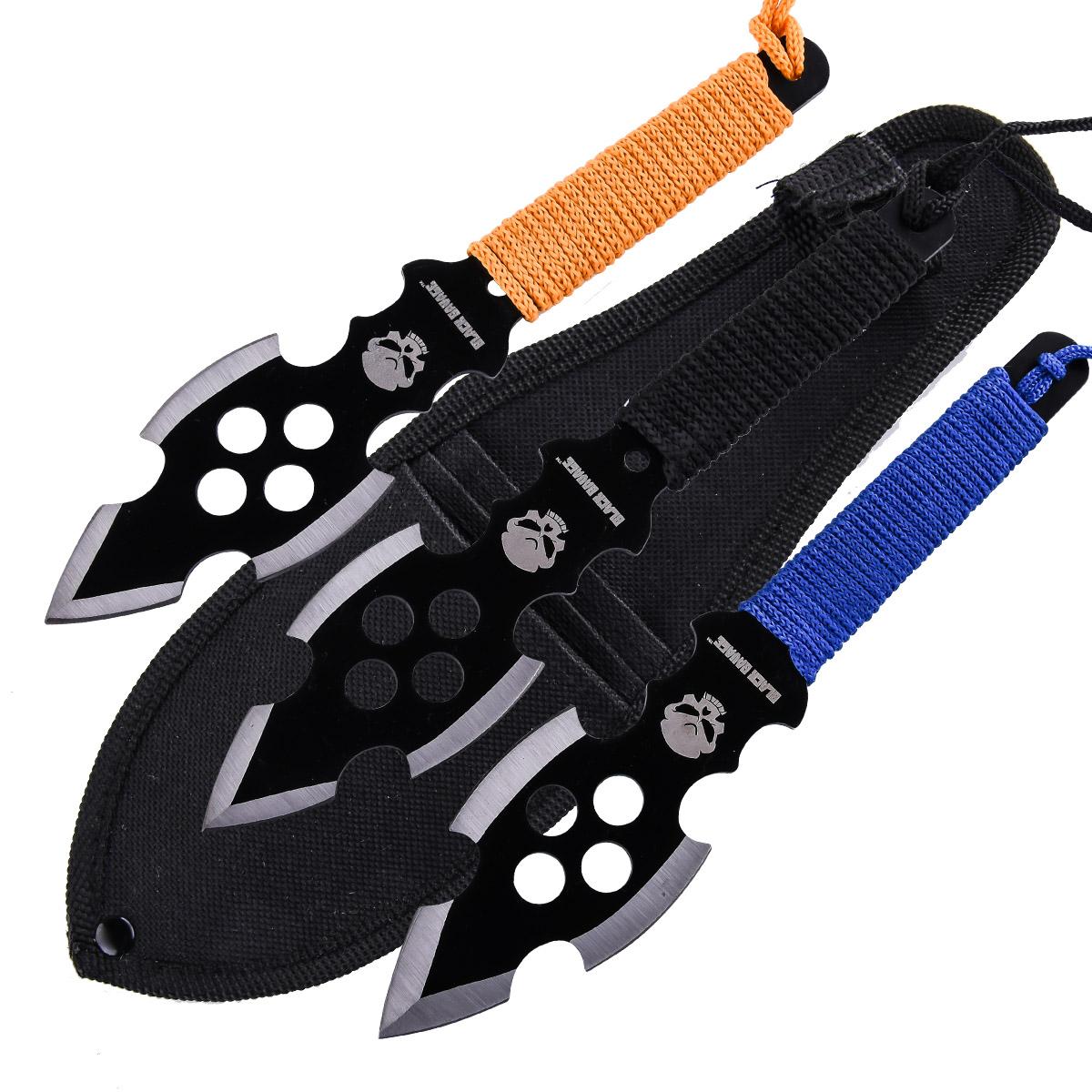 Метательные ножи Black Savage
