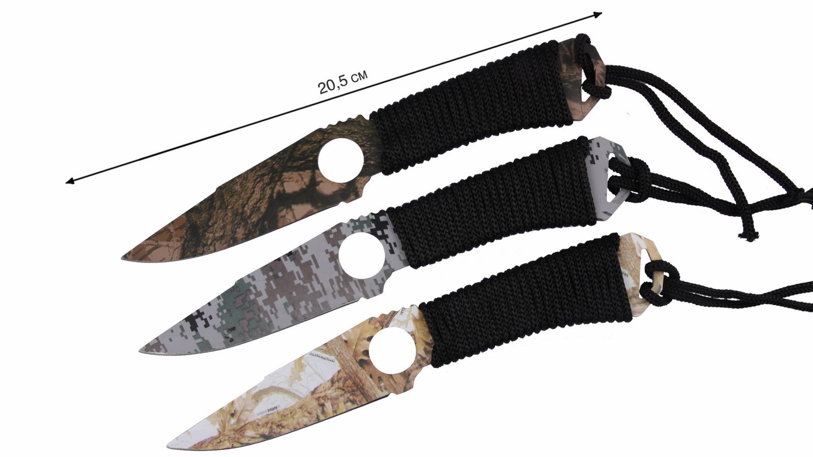 Метательные ножи Камуфляж - купить в интернет-магазине