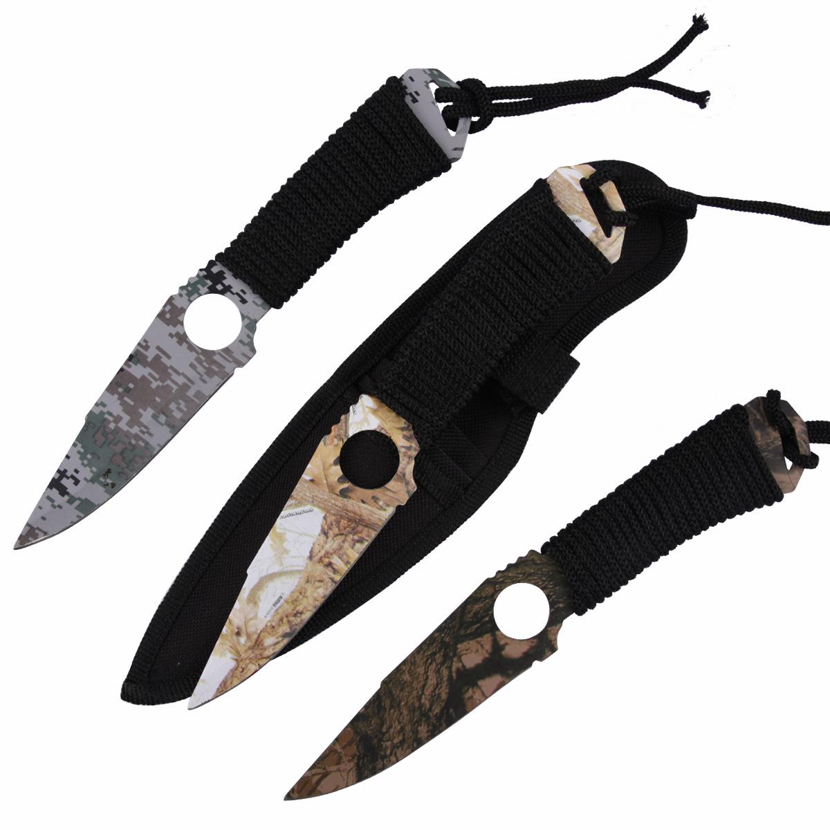 Метательные ножи Камуфляж - купить с доставкой