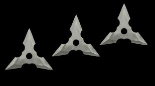 Заказать метательные сюрикены трехлучевые