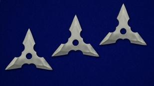 Метательные сюрикены трехлучевые с доставкой