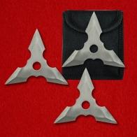 Метательные сюрикены трехлучевые