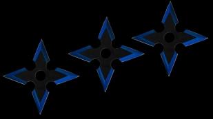 Метательные звезды Сякен высокоточные