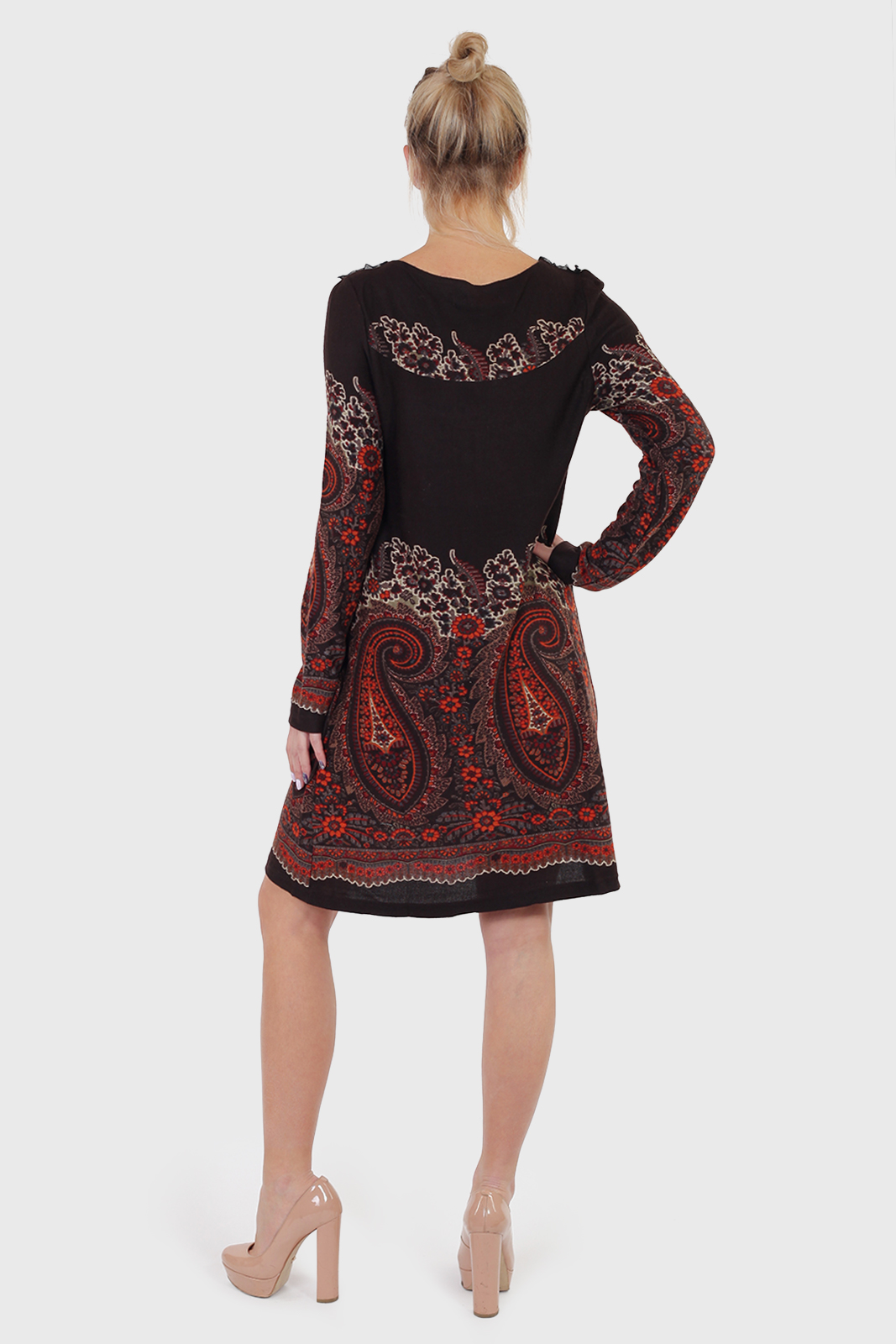 Эксклюзив! Смелое и свободное миди платье RANA.