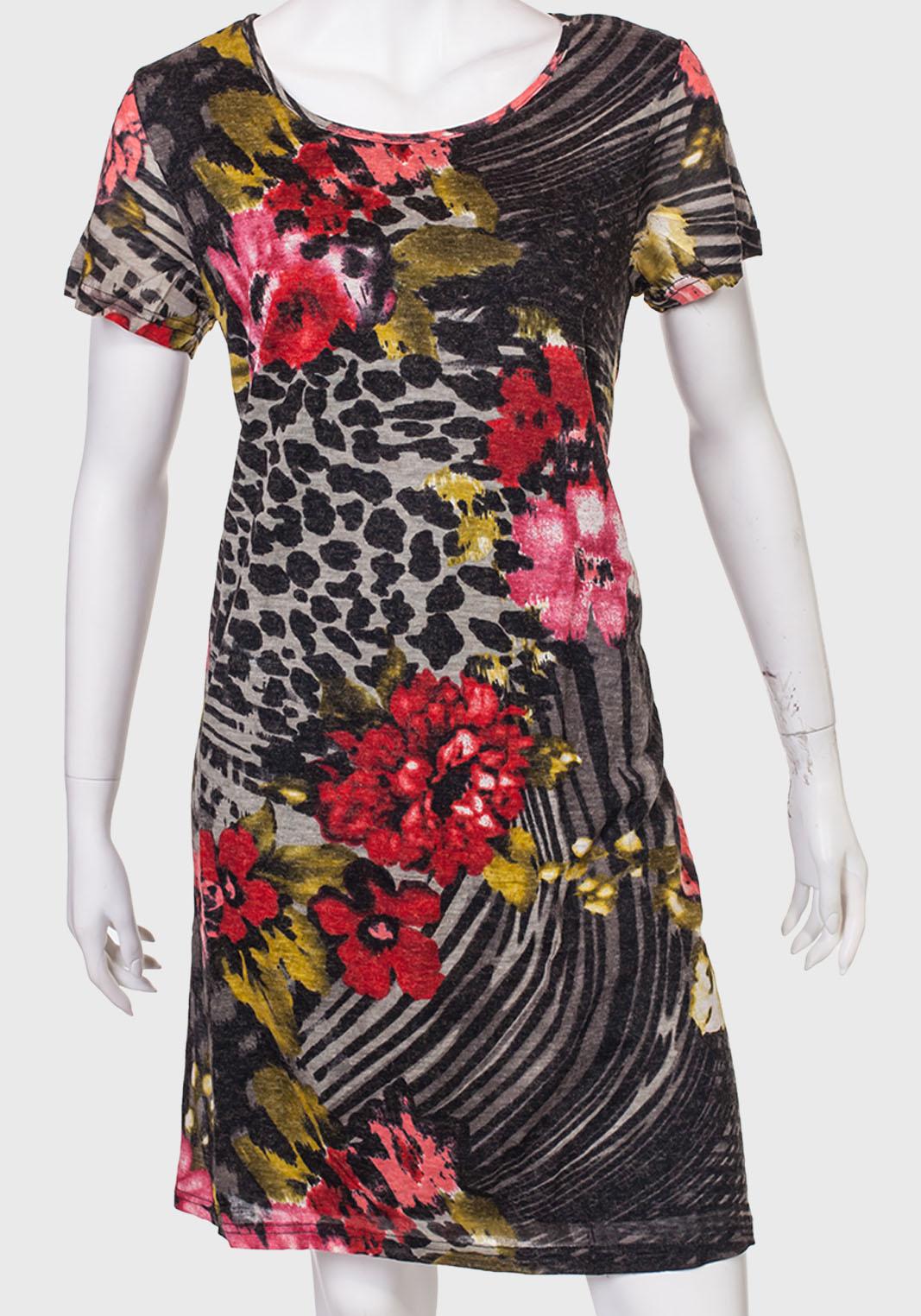 Миди-платье с коротким рукавом от Palme