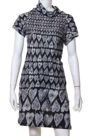 Миди-платье с романтичным орнаментом