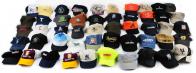 Микс бейсболок различных брендов с фабрик