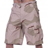 MIL TEC Мужские милитари шорты карго (камуфляж DESERT)