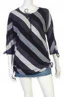 Милая полосатая туника с рукавом три четверти от Marie Claire - купить в Военпро