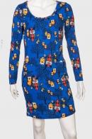 Милейшее женское платье с совами и карманами