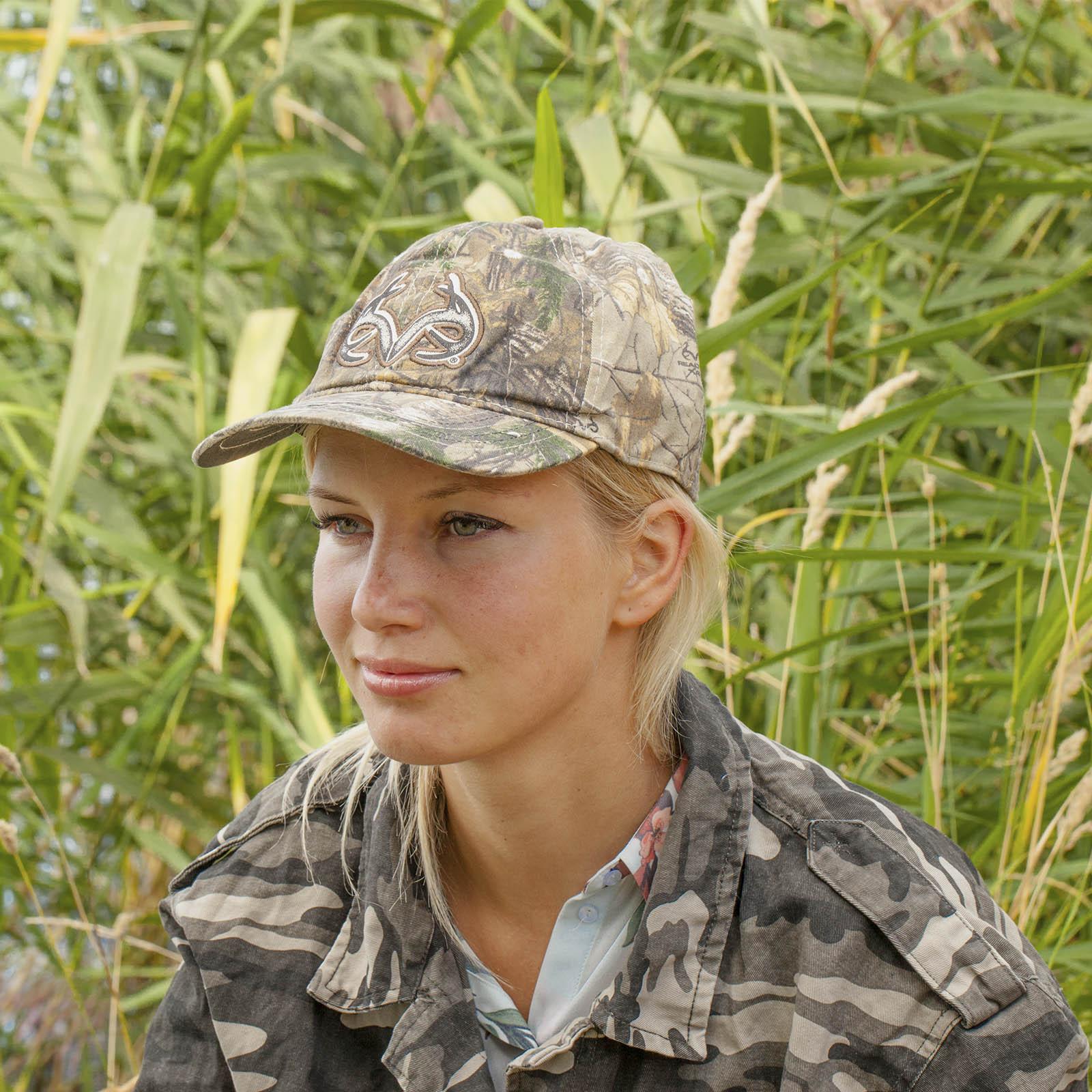 Женская милитари бейсболка Realtree.